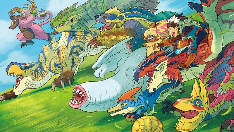 Illustration for article titled Here are more details for the Monster Hunter Stories Anime