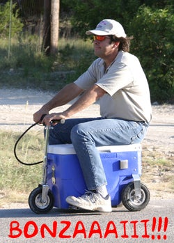 Illustration for article titled Cruzin' Cooler Operator Gets Charged With DWI
