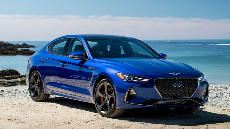 The Genesis G70 Configurator Is Slick As Hell