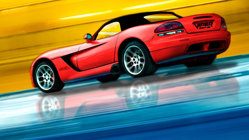 Illustration for article titled Your ridiculously cool Dodge Viper wallpaper is here