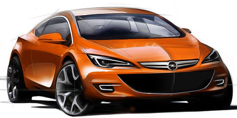 Illustration for article titled 2010 Opel Astra, GTC Get Much-Needed Facelift