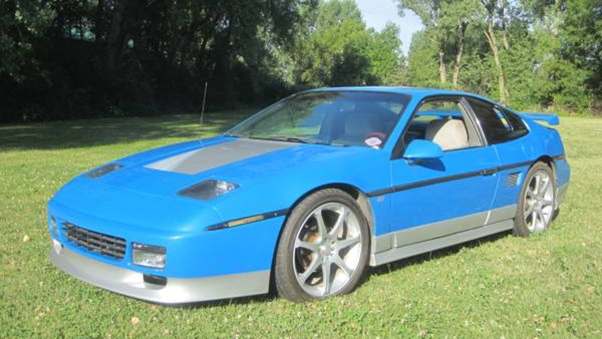 This Fiero Gt Finally Has The V8 Power Gm Should Have Given It In 1987 Pontiac Dashboard