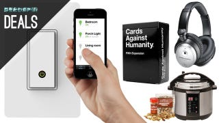 Illustration for article titled Give Your Home a Brain, Indoor Smoker, Cards Against Humanity [Deals]