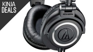 Illustration for article titled Audio Technica ATH-M50x, Cheap Amazon Tablets, Fancy Ice, More Deals