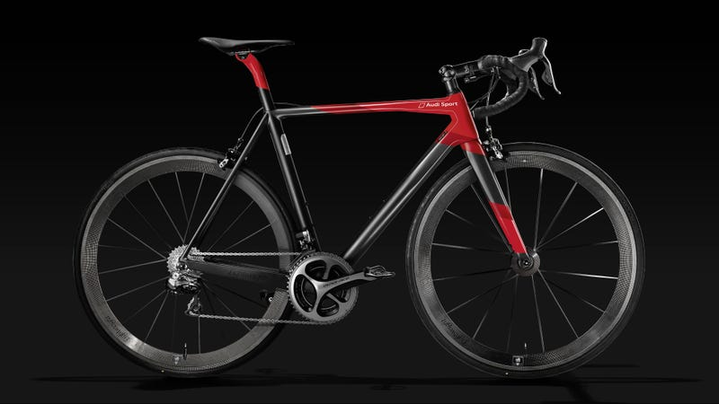 Illustration for article titled This $20,000 Carbon Fiber Bike Weighs a Ridiculous 12 Pounds