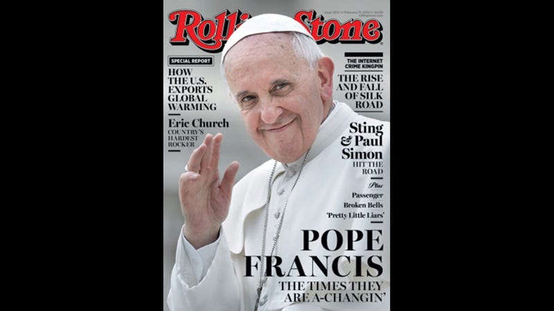 Illustration for article titled Contest: Name The Pope's Non-Existent Rock/Rap/Pop Album