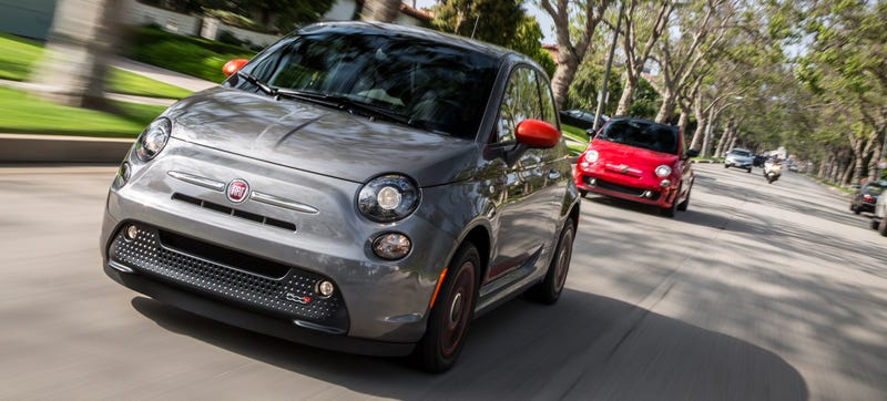 Illustration for article titled The 2015 Fiat 500e Is Now Available In California and Oregon