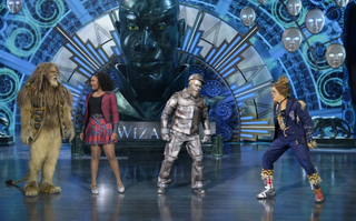 David Alan Grier as the Cowardly Lion, Shanice Williams as Dorothy, Ne-Yo as Tin Man and Elijah Kelley as the Scarecrow in The Wiz Live!Virginia Sherwood/NBC