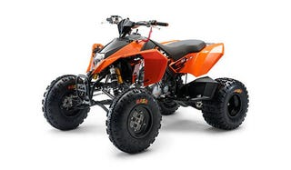 Illustration for article titled KTM Launches First Quads, Coming to the USA in 2008