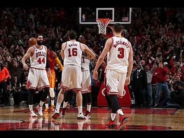 Bulls Beat Pacers On Fantastic Tipped Lob