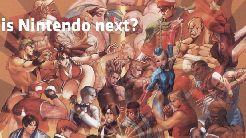 Illustration for article titled Don't Hold Your Breath For A Nintendo Vs. Capcom Fighting Game, You'll Pass Out