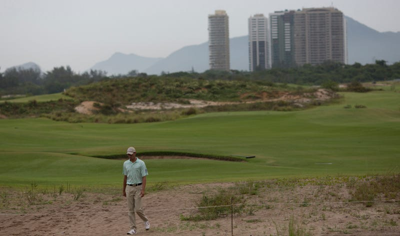The Olympic golf course. Photo credit: Silvia Izquierdo/AP