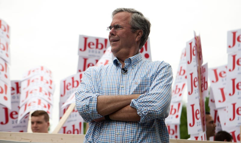 Illustration for article titled Jeb Bush Thinks Lazy Americans Just Need to Work Longer Hours