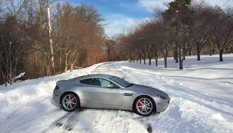 Illustration for article titled Here's What Happened When I Drove My Aston Martin In The Snow