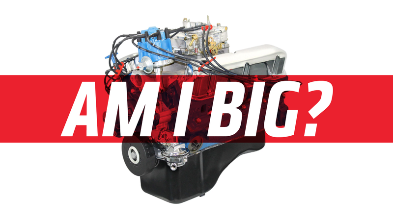 Illustration for article titled Quick Question: At What Size Is an Engine 'Big?'