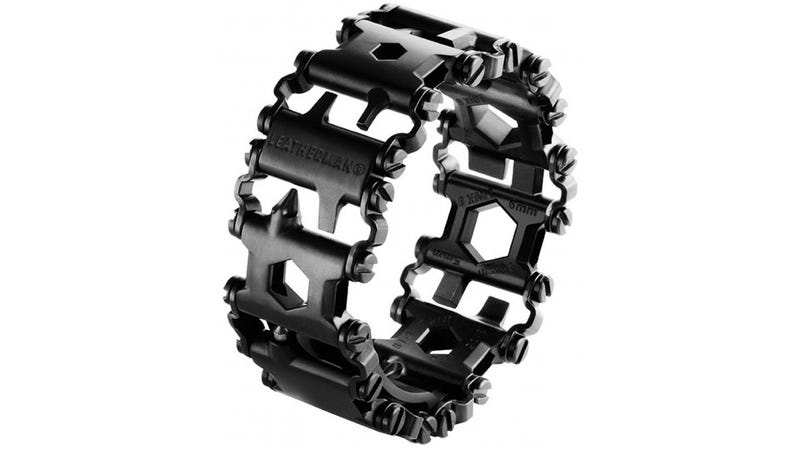 Illustration for article titled A Leatherman Bracelet Puts 25 Tools On Your Wrist