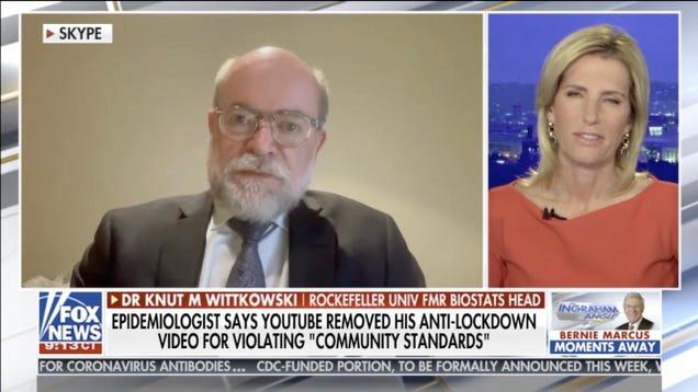 Fox News Guest Says Respiratory Disease Epidemics Just Go Away in Five Weeks