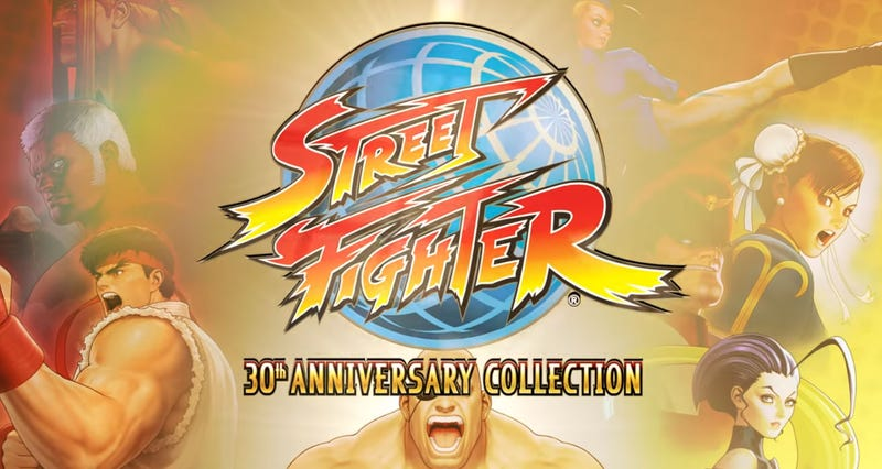Illustration for article titled Street Fighter Collection Bundles 12 Games In One Release