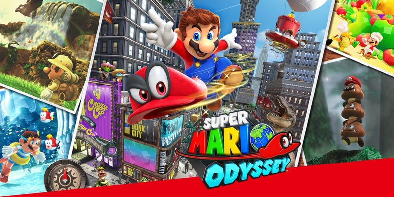 Illustration for article titled Nyren's Review: Super Mario Odyssey - An Odyssey Worth Undertaking