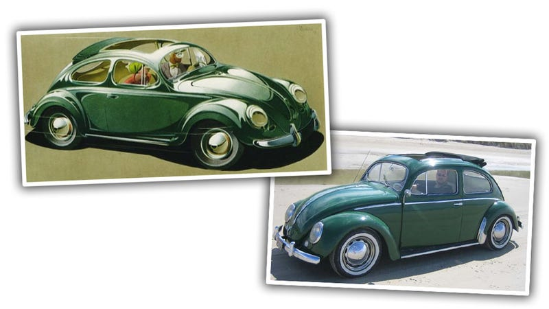 Illustration for article titled VW's Ads Were Once Gloriously Delusional