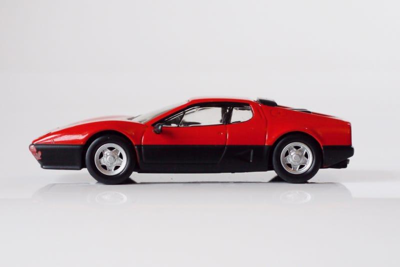 Illustration for article titled Kyosho Ferrari 7 1/64 #15 - Project Prancing Horse #15 - 1976 512 BB