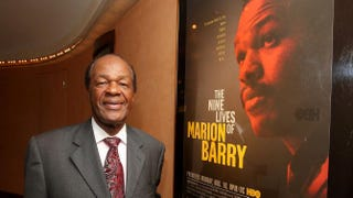 Former Washington, D.C., Mayor Marion Barry attends the HBO documentary screening of The Nine Lives of Marion Barry at the HBO Theater on Aug. 6, 2009, in New York City.  Michael Loccisano/Getty Images