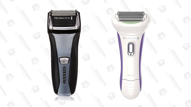 Remington Men's Foil Shaver | $19 | AmazonRemington Smooth & Silky Smooth Glide Rechargeable Shaver | $18 | Amazon | Use $15 off coupon