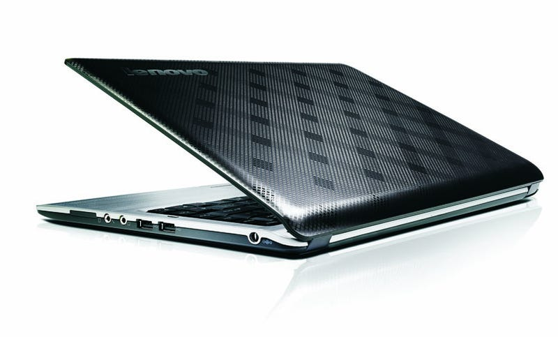 Illustration for article titled Lenovo U350 Is Pretty Thin, Pretty Light, and Pretty Cheap