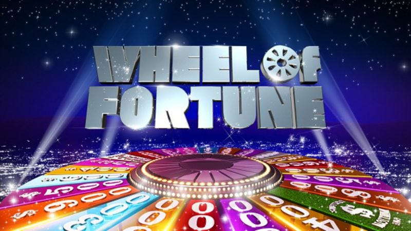 Illustration for article titled Wheel Of Fortune