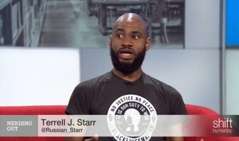 Terrell J. StarrMSNBC screenshot