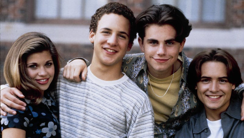 Illustration for article titled 'Boy Meets World' Turns 25
