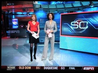 Illustration for article titled Of What Movie Will Hannah Storm's Next SportsCenter Outfit Remind Us?
