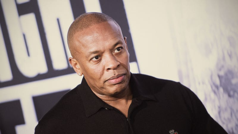 Dr. Dre attends the premiere of 'Straight Outta Compton' on August 10, 2015 in Los Angeles, California.