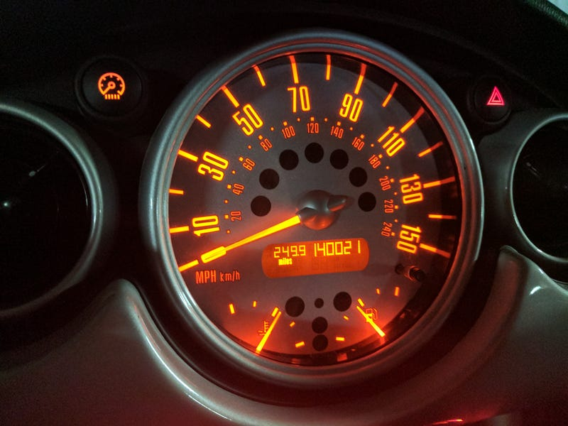 Orange dash lights are the best
