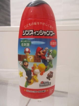 Illustration for article titled Review: New Super Mario Bros. Wii...Shampoo