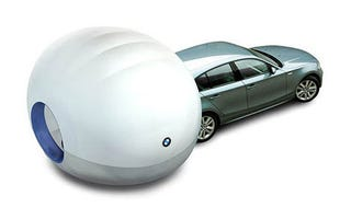 Illustration for article titled BMW Air Camper: Living Out of Your Car In Style