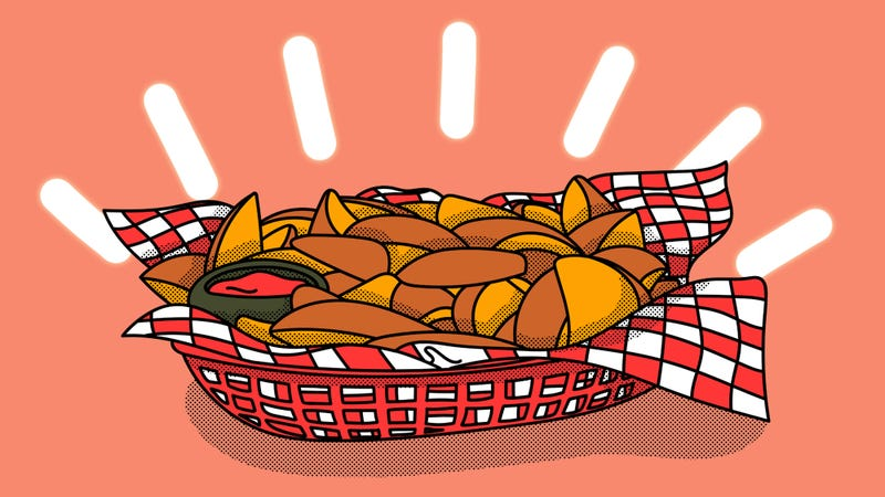 Illustration for article titled Wedge issue: Jojos are the paragon of fried potatoes