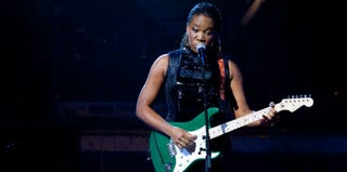 India.Arie performs at the 2010 BET Awards. (Getty Images Entertainment)