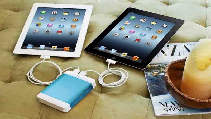 Illustration for article titled The Hyperjuice Plug: Two iPads, One Charger