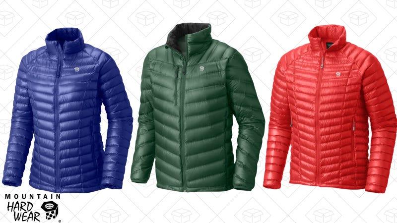 Men's MetaTherm Jacket | $129 | Mountain Hardwear | Use code MHWWINTER60Women's MetaTherm Jacket | $129 | Mountain Hardwear | Use code MHWWINTER60Men's HypeDown Jacket | $112 | Mountain Hardwear | Use code MHWWINTER60
