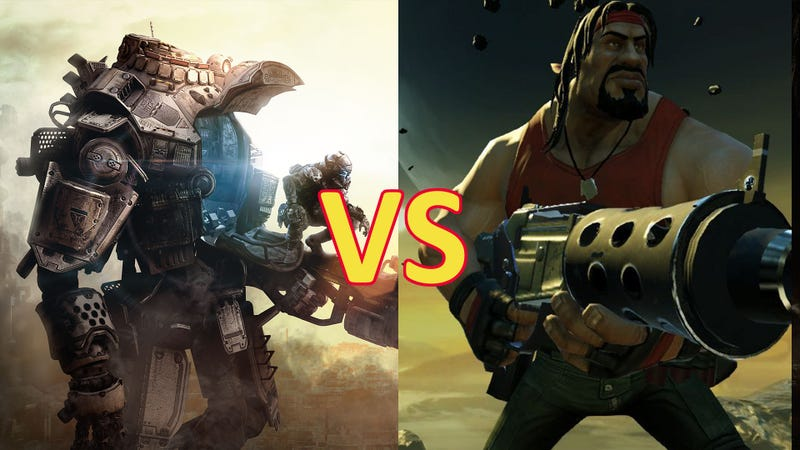 Illustration for article titled Titanfall vs. Loadout:  The Comparison You Never Saw Coming?