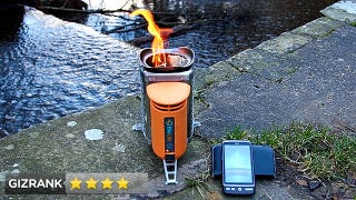 BioLite CampStove: Charges Your Phone and Warms Your Tush, By Burning Twigs