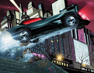 Illustration for article titled First Look At New Batmobile