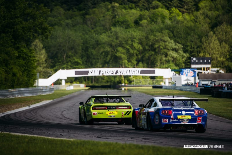 Illustration for article titled Trans Am Racing At Lime Rock, And Miatas Too