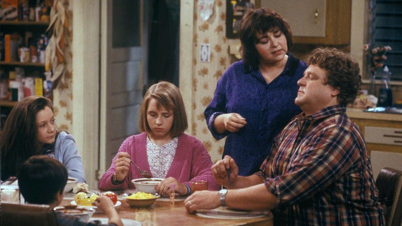 Roseanne's up for a Roseanne reunion, which Norm Macdonald wants to write