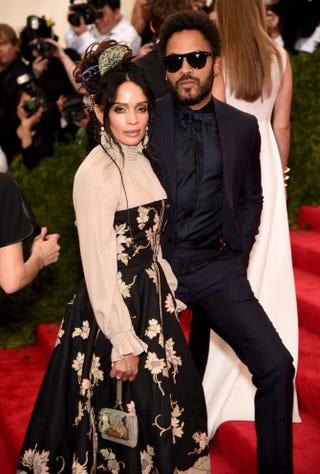 Lisa Bonet and Lenny KravitzDimitrios Kambouris/Getty Images