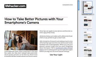 Illustration for article titled Joliprint Bookmarklet Turns Any Google Reader Item into a PDF