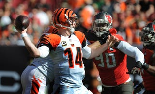 Illustration for article titled Andy Dalton Dug His Team A Hole With An Early Interception