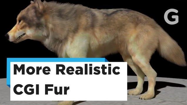 Just Look at This Freakin  CGI Fur