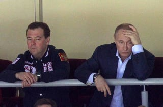 Illustration for article titled That Sad Vladimir Putin Photo Is Not From Today